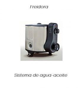 freidora electrica agua aceite